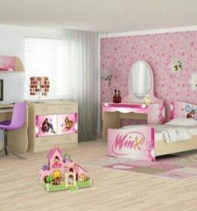 Детская комната винкс