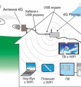 Установка оборудования для интернета