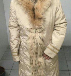 Пальто с подкладкой)