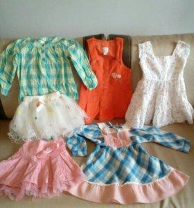 Вещи для девочки 3-4 года