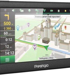 Навигатор Prestigio. Новые карты