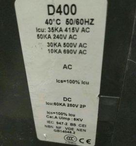ящик силовой, автоматический электровыключатель