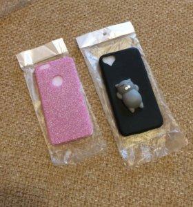 Розовый чехол на 6 айфон