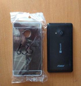 Металлическая Крышка чехол для lumia 535
