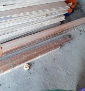 Коробки дверные деревяные 90×2,10