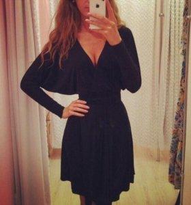Новое черное платье летучая мышь