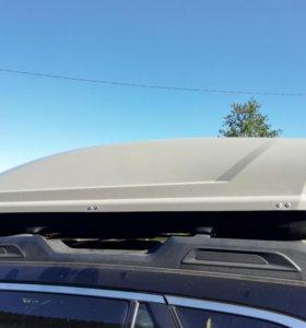 Багажный бокс серый 500 литров