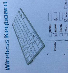 Блютуз Клавиатура на айфон,iPad,apple Tv