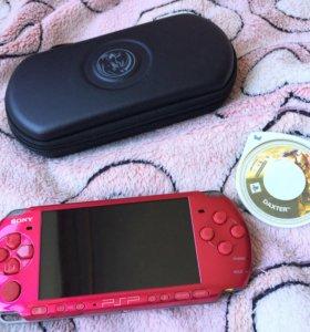 Портативная игровая консоль Sony PSP-3008 красная