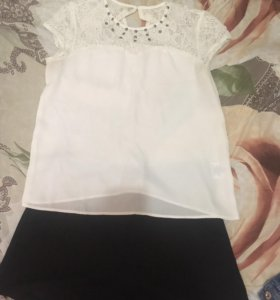 Шорты и блузка