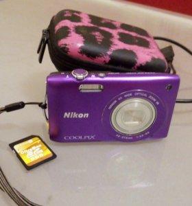 Фотоаппарат Nikon Coolpix S3300 новый