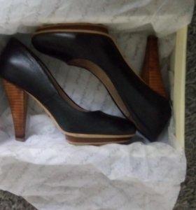 Туфли женские Basconi 36 размер кожа
