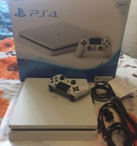 Ps 4 slim white 500 gb