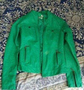 Кожаная куртка(Модис)