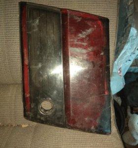Фальш панель крышки багажника корона бочка