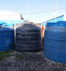 Емкость для воды  пластиковая 5000 литров.