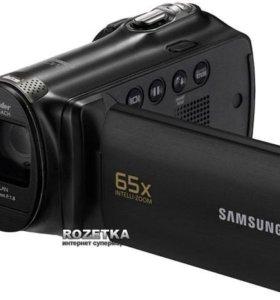 Видеокамера Samsung SMX-F70 (черный).