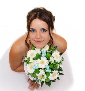 Видеосъёмка, фотосъёмка свадьбы, юбилеи, дети