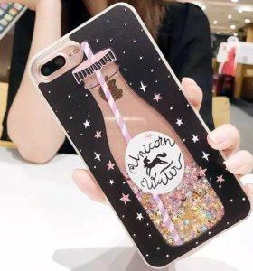 Модный чехол iPhone SE новый