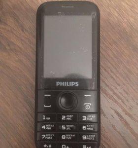 Телефон кнопочный PHILIPS