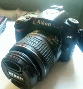 Nikon D90 kit, в идеальном состоянии