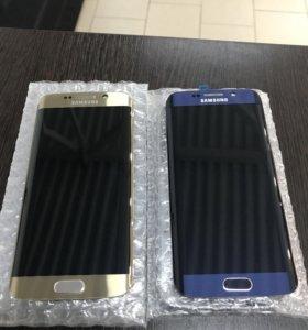 Дисплей на Samsung s6 edge