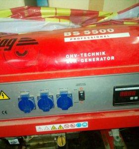 Бензиновый генератор fubag 5кв
