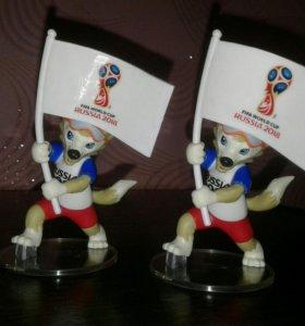 FIFA игрушка Забивака с флагом