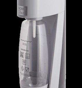 Сифон для газирования воды Elixir Turbo NG silver
