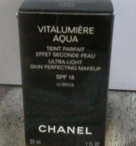 Тональный крем chanel vitalumiere aqua 10 beige