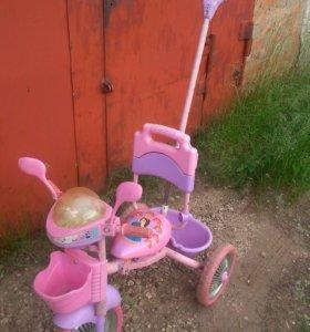 Велосипед детский, трехколесный