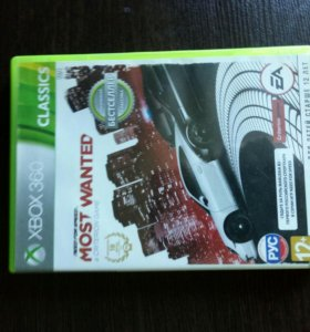 NFS Most Wanted 2013 для Xbox 360