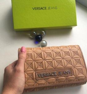 Новый кошелёк/портмоне/клатч Versace