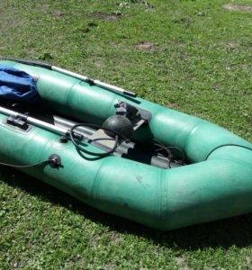 """Резиновая весельная надувная лодка """"Язь"""""""
