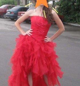 Платье (корсет и юбка со шлейфом)