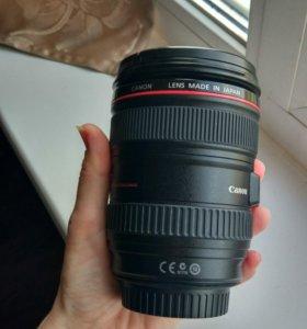 Объектив Canon EF 24-105mm F4L IS  USM