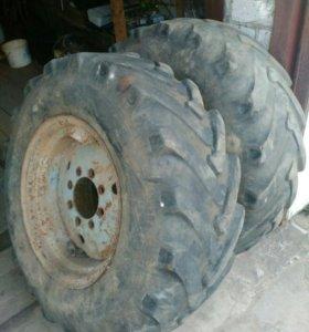 Колеса на трактор