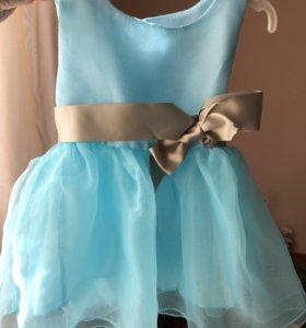 Платье для маленькой принцессы. Новое!