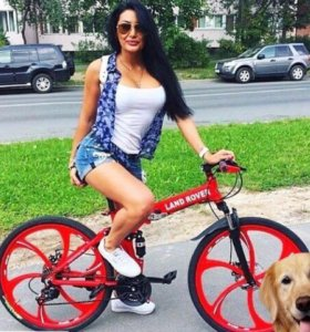 Велосипеды на литых дисках/фэтбайки