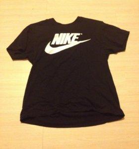 Черная мужская футболка Nike (найк)