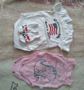 Вещи на девочку с рождения до года
