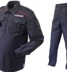Новый костюм ППС полиция летний, ткань рипстоп
