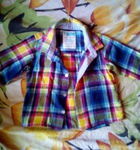 Рубашки, кофточки. Вещи пакетами