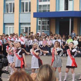 Форма на последний звонок СССР(платье+фартук)