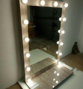Подвесное гримерное зеркало Боб пайн