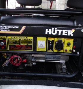 Электрогенератор бензиновый HUTER 4000LX
