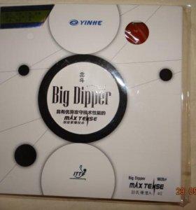 Замена Tenergy 05-накладки Big Dipper новая