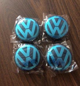 Колпачки,заглушки для дисков на VW (фольксваген)