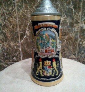 Кружка сувенирная пивная новая