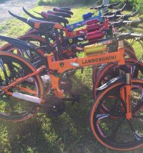 Велосипеды на литых дисках Ferrari, Lamborgini